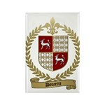 DOUCETTE Family Crest Rectangle Magnet