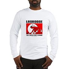 Lacrosse-DrawMan Long Sleeve T-Shirt