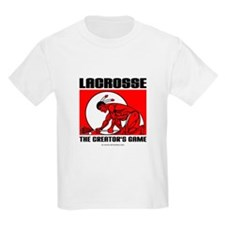Lacrosse-DrawMan Kids T-Shirt