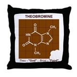 Funny Chemical Throw Pillow