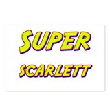 Super scarlett Postcards (Package of 8)