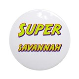 Super savannah Ornament (Round)