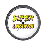 Super savanna Wall Clock