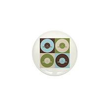 Carpentry Pop Art Mini Button (10 pack)