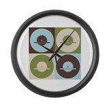 Carpentry Pop Art Large Wall Clock