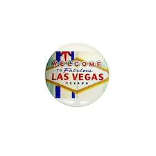 Cute Vegas Mini Button