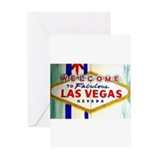 Unique Vegas Greeting Card