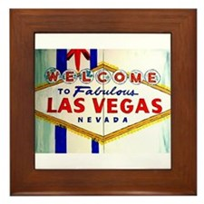 Cute Vegas Framed Tile