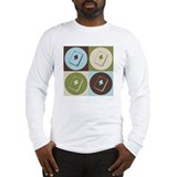 Bridge Pop Art Long Sleeve T-Shirt