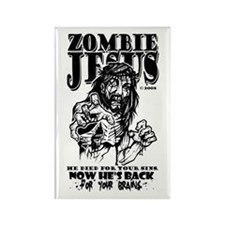 """Zombie Jesus """"Back for your BRAINS"""" Magn"""