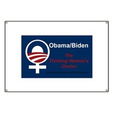 Unique Obama pro choice Banner