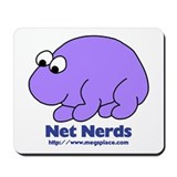 Cute Nerd Mousepad