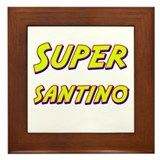 Super santino Framed Tile