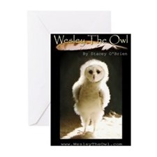 Book Titled WesleyTheOwl NoteCards (Pk of 10)