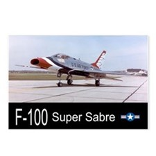 F-100 Super Sabre Fighter Postcards (Package of 8)