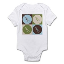 Architecture Pop Art Infant Bodysuit