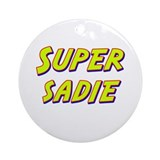 Super sadie Ornament (Round)