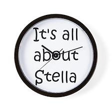 Unique Stella Wall Clock