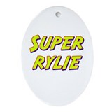 Super rylie Oval Ornament