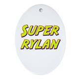 Super rylan Oval Ornament