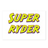 Super ryder Postcards (Package of 8)
