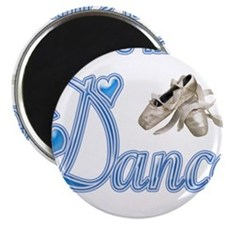 "Unique Dance 2.25"" Magnet (10 pack)"