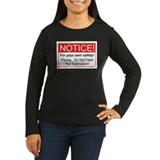 Notice / Toolmakers T-Shirt