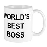 """World's Best Boss""  Tasse"