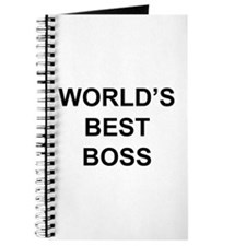 """World's Best Boss"" Journal"