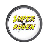 Super ruben Wall Clock