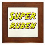 Super ruben Framed Tile