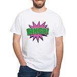 Bingo Bang White T-Shirt
