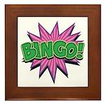 Bingo Bang Framed Tile