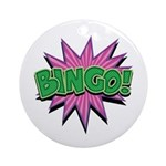 Bingo Bang Ornament (Round)