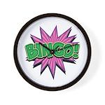 Bingo Bang Wall Clock