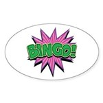 Bingo Bang Oval Sticker