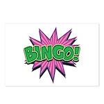 Bingo Bang Postcards (Package of 8)
