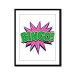 Bingo Bang Framed Panel Print