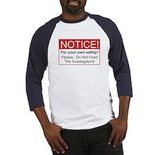 Notice / Investigators Baseball Jersey