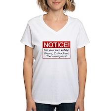 Notice / Investigators Shirt