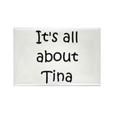 Cute Tina Rectangle Magnet (100 pack)