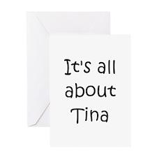 Cute Tina Greeting Card