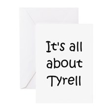 Cute Tyrell Greeting Cards (Pk of 10)