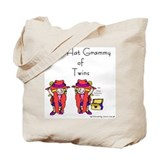 Red_Hat_Grammy_Twins Tote Bag