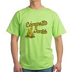 Campsite Junkie Green T-Shirt