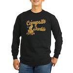 Campsite Junkie Long Sleeve Dark T-Shirt