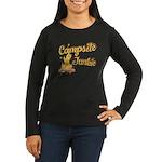 Campsite Junkie Women's Long Sleeve Dark T-Shirt