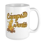 Campsite Junkie Large Mug