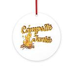 Campsite Junkie Ornament (Round)