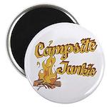 Campsite Junkie Magnet